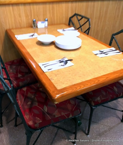 Table and Seating