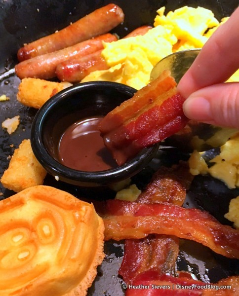 Dipping My Bacon in the Hazelnut Chocolate Sauce