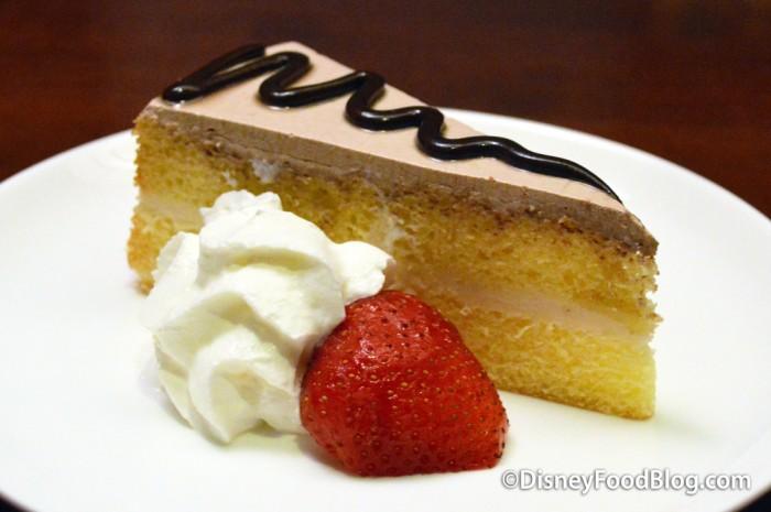 Ginger Mousse Cake