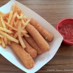 Dining in Disneyland: Secret Menu Mozzarella Sticks at Stage Door Cafe