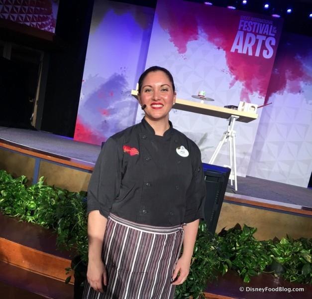 Chef Jade Bowser, Amorette's Patisserie at Disney Springs
