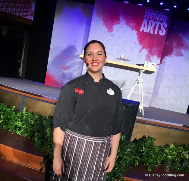 Chef Jade Bowser, Amorette's Patisserie at Disney Springs
