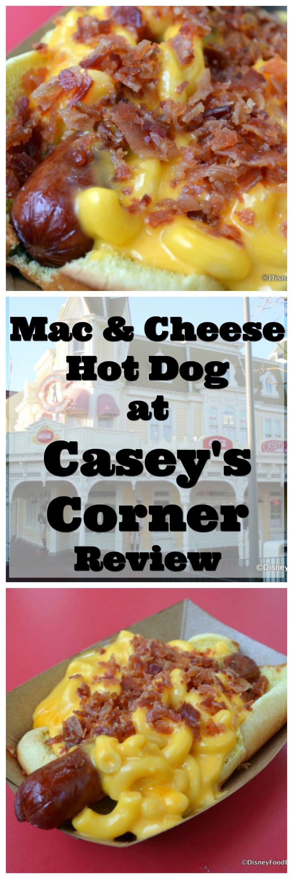Casey S Corner Foot Long Mac And Cheese Hot Dog