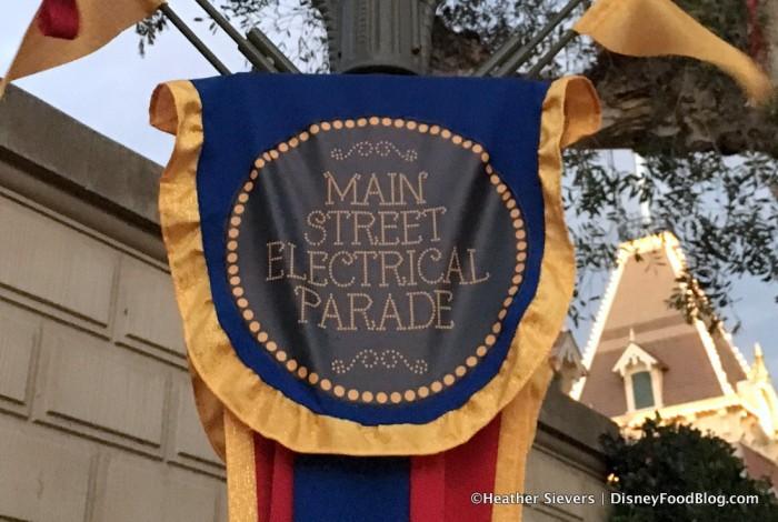 Main Street Electrical Parade Banner