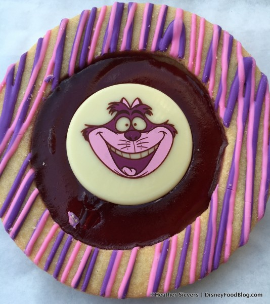 Main Street Electrical Parade Cheshire Cat Cookie