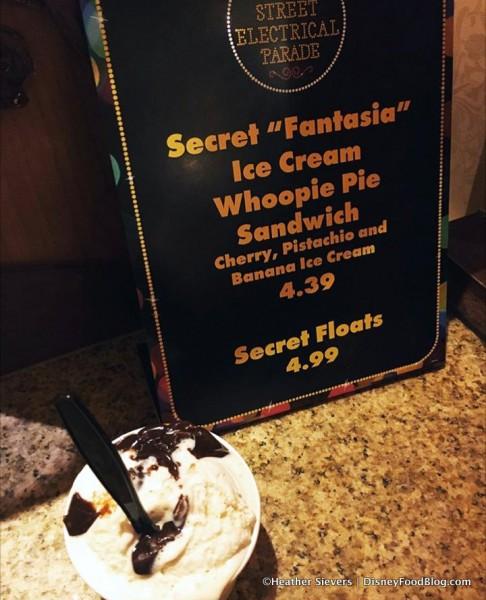 Main Street Electrical Parade Secret Fantasia Ice Cream Whoopie Pie Sandwich