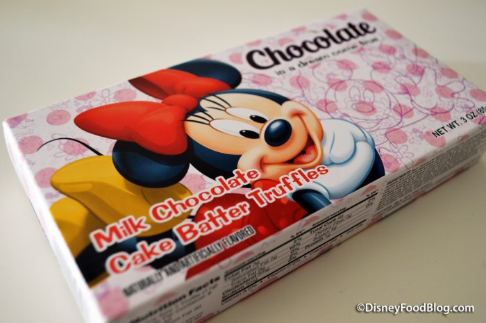 Minnie Mouse Mood Chocolate