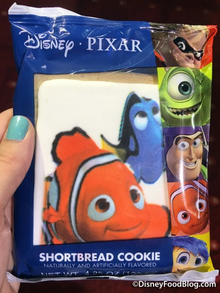 Pixar Shortbread Cookie