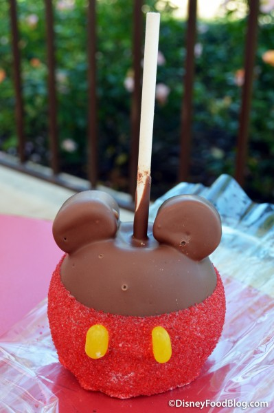 Mickey Specialty Apple from Main Street Confectionery
