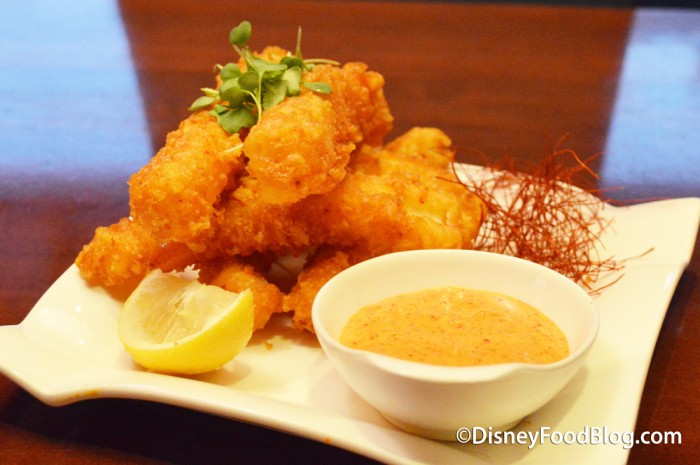 Spicy Tempura Calamari