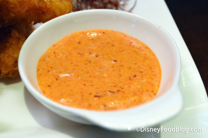 Spicy Tempura Calamari -- Sauce
