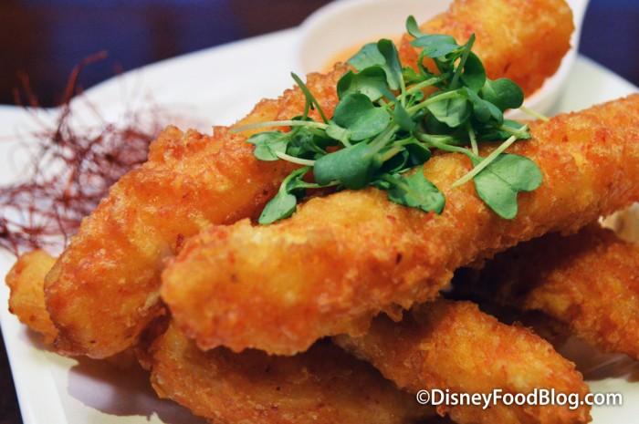 Spicy Tempura Calamari -- Garnish