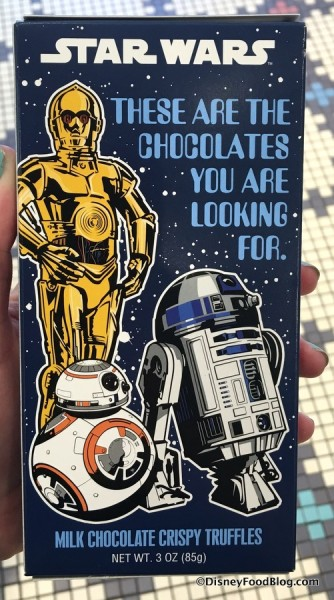 """These Are the Chocolates You Are Looking For"""