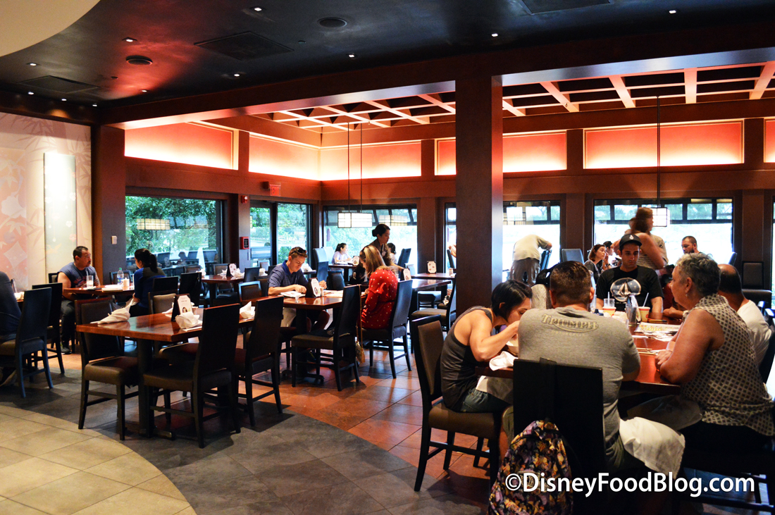 Review Tokyo Dining In Epcot S Japan Pavilion