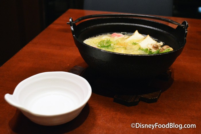Vegetable Naveyaki Udon