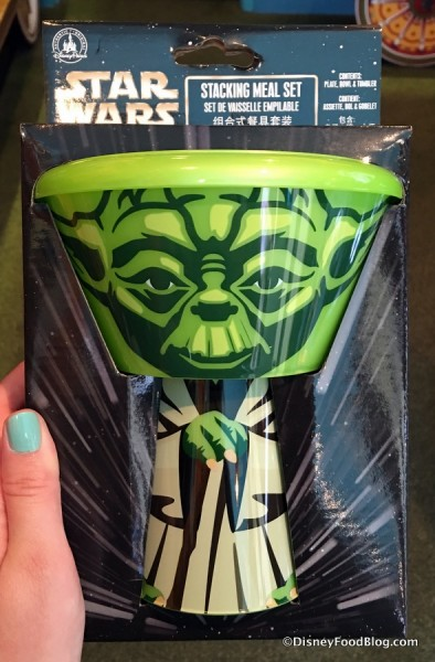 Yoda Stacking Meal Set
