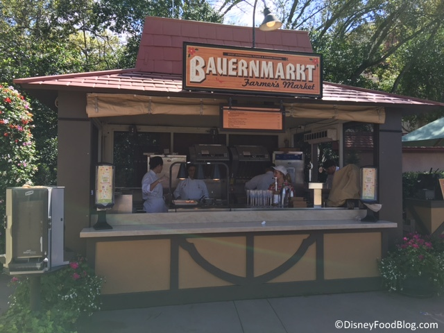 Bauernmarkt Booth in Epcot's Germany
