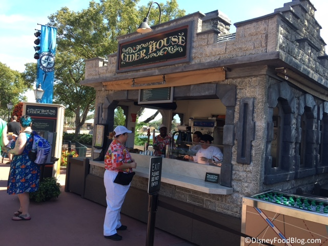 2017 Epcot Flower And Garden Festival Cider House The Disney Food Blog