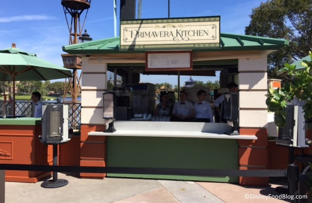 Primavera Outdoor Kitchen Booth