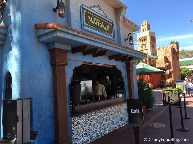Taste of Marrakesh Booth