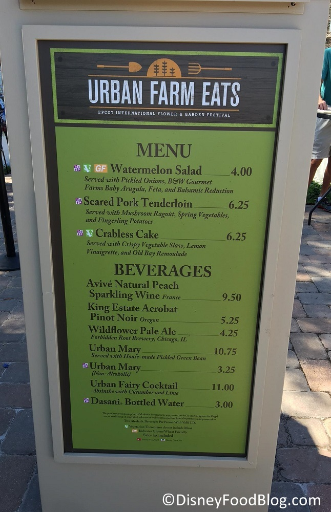 2017 Epcot Flower And Garden Festival Urban Farm Eats The Disney Food Blog