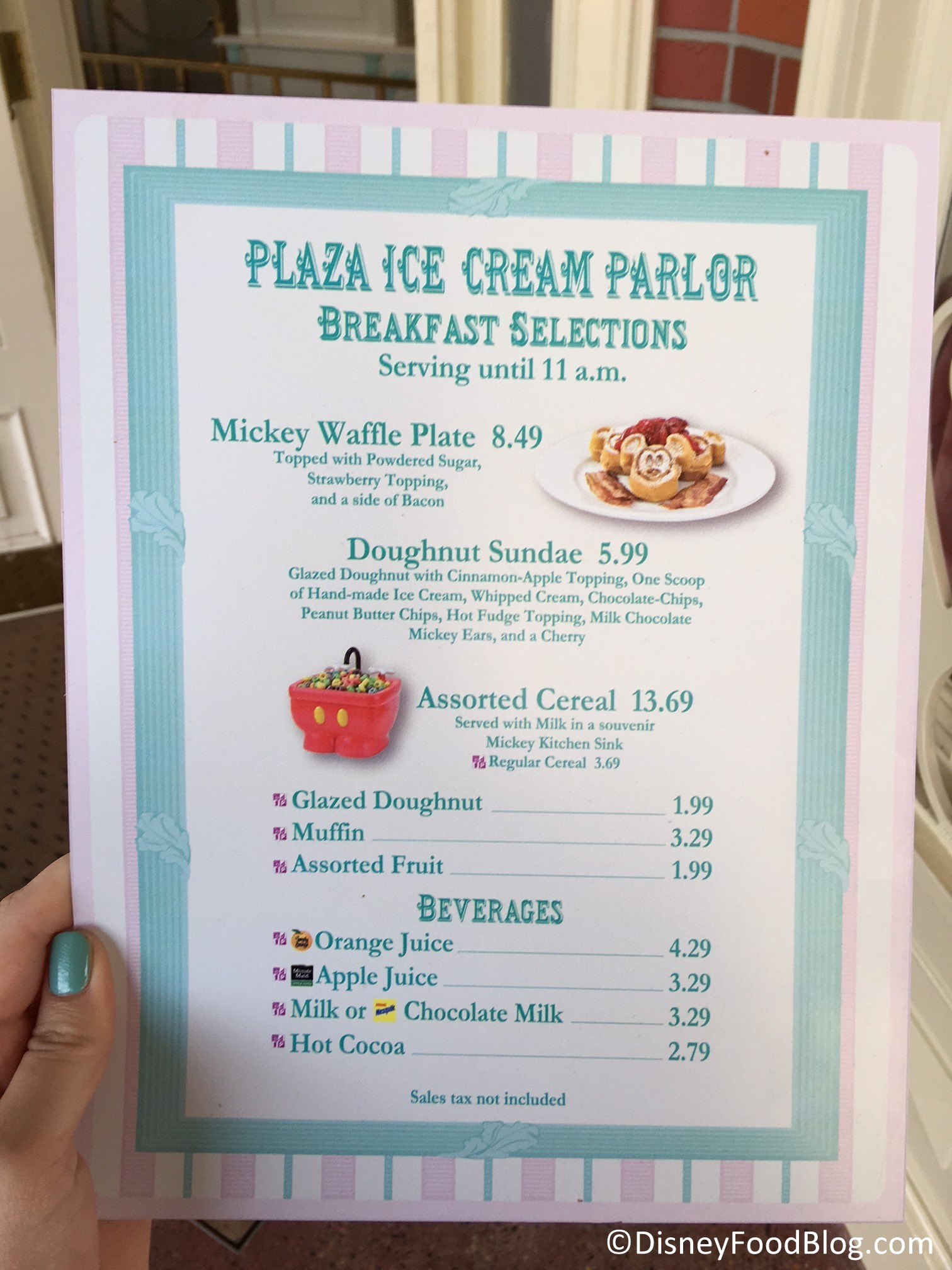 News: New Breakfast Options Available at Disney World\'s Magic ...