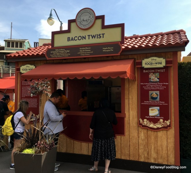 Bacon Twist Booth