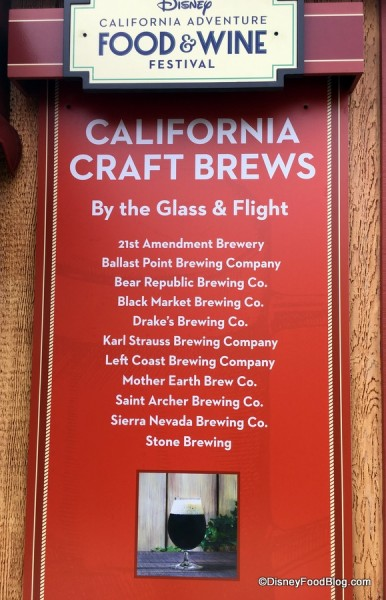 California Craft Brews