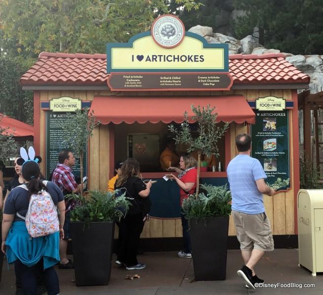 I Heart Artichokes Booth