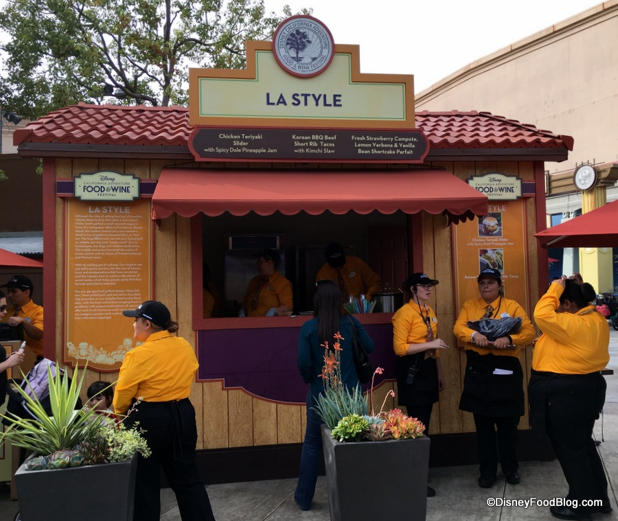 2018 Disney California Adventure Food and Wine Festival: LA