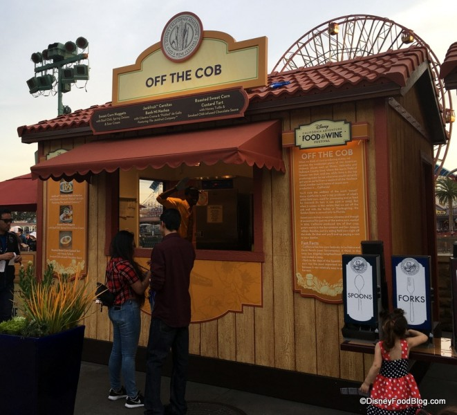 Off the Cob Marketplace from the 2017 Disney California Adventure Food and Wine Festival