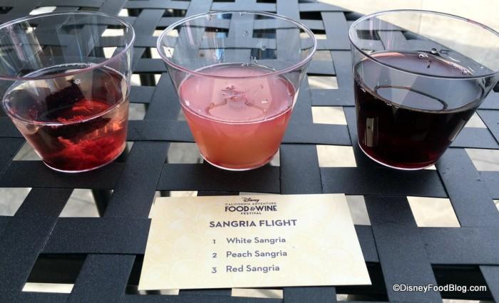 Sangria Flight