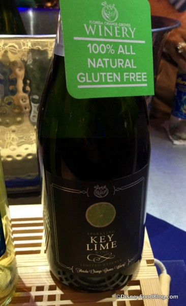 Key Lime Sparkling Wine