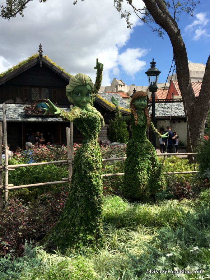 News Full Food Booth Menus For 2018 Epcot Flower And