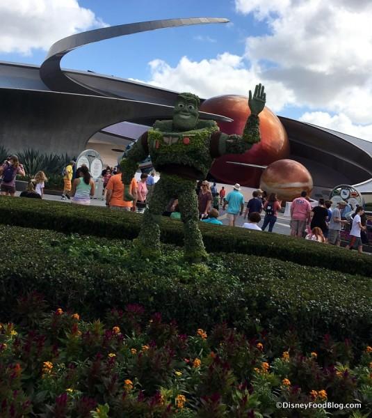 Flower and Garden Festival Buzz Lightyear