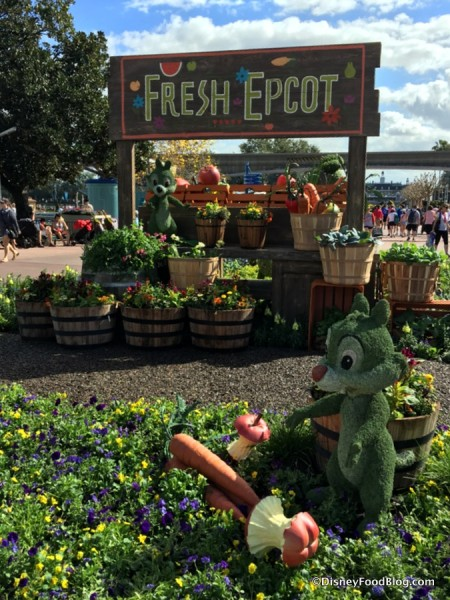 Fresh Epcot with Chip and Dale