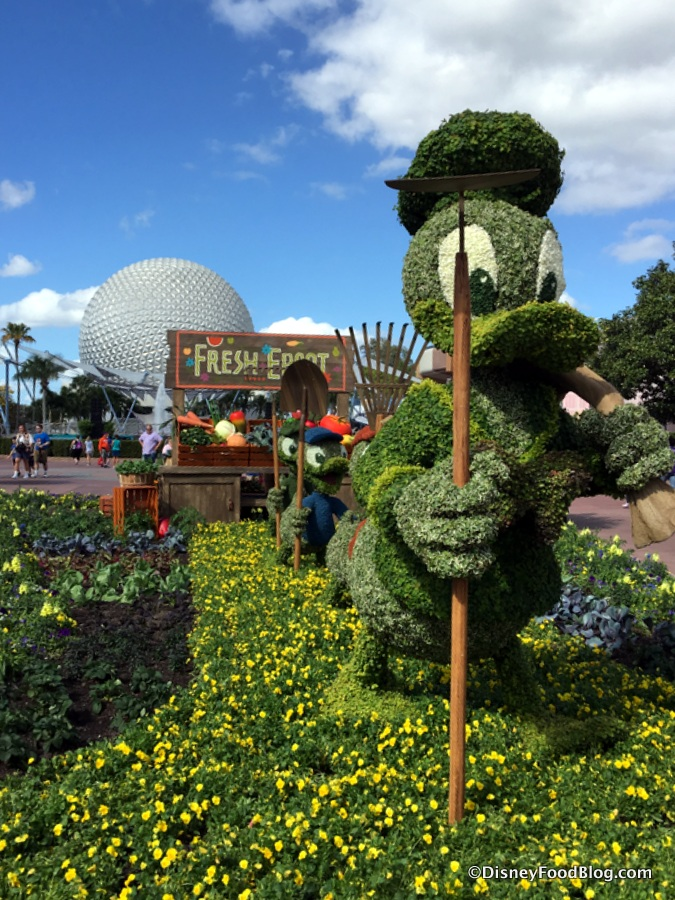 Epcot International Flower And Garden Festival The Disney Food Blog