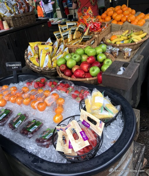 Harambe Fruit Market in Animal Kingdom Offers Better-For-You Fare