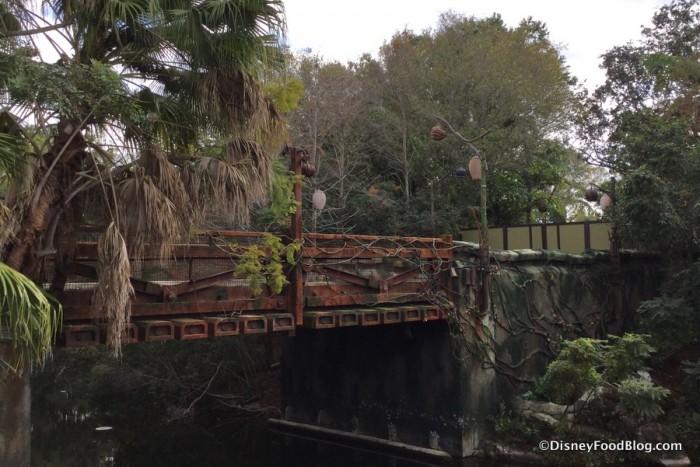 It won't be long 'til we walk across this bridge!