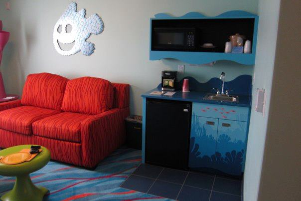 Finding Nemo Suite at Art of Animation