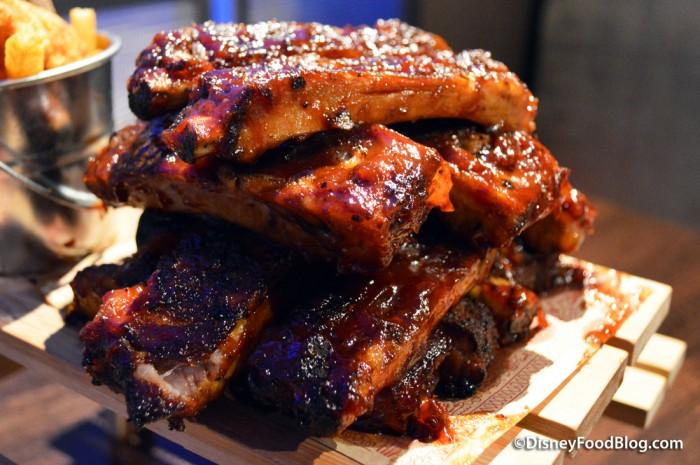 BBQ Ribs -- Up Close