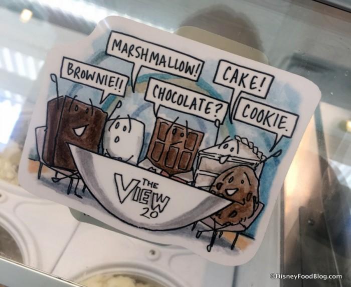 The View Anniversary Ice Cream