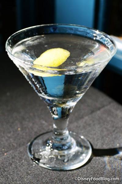 Brown Derby Lounge Citrus Vodka Martini