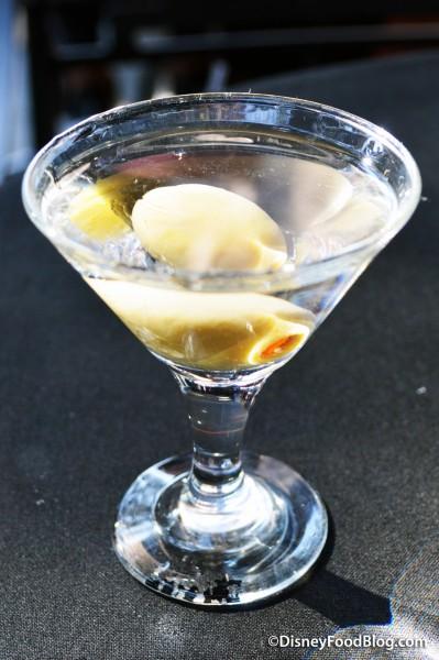 Brown Derby Lounge Classic Gin Martini