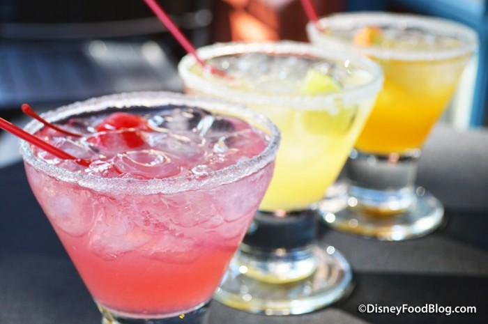 Brown Derby Lounge Margarita Flight