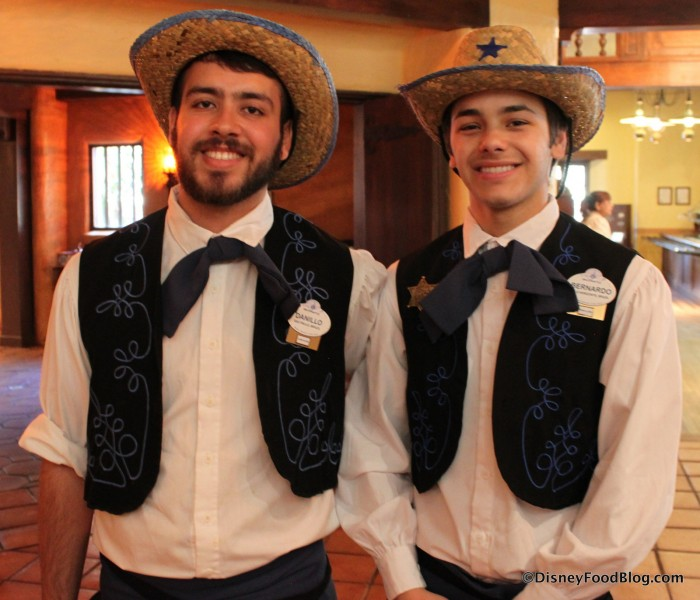 Cast Members ready to get the party started for the Nachos Rio Grande!