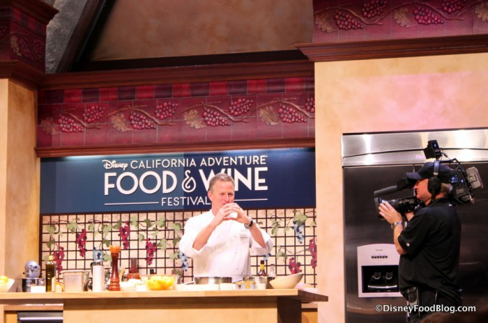 Culinary Demonstration at the DCA Food and Wine Festival