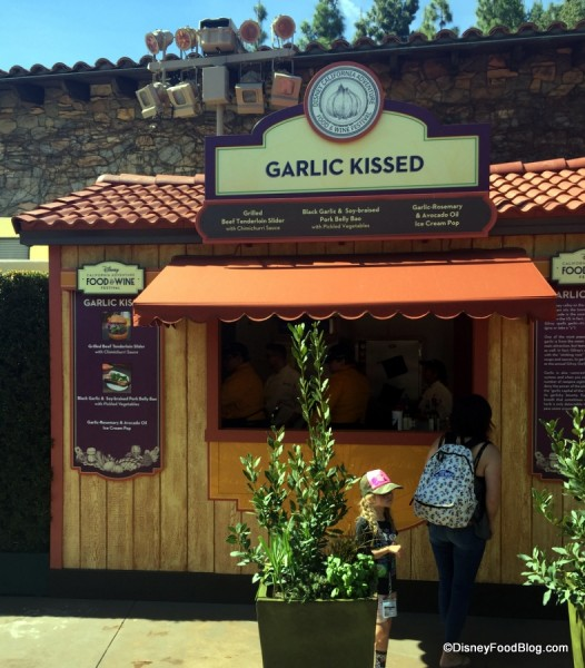 Garlic Kissed Booth
