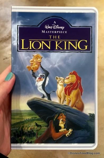 Lion King VHS Notebook