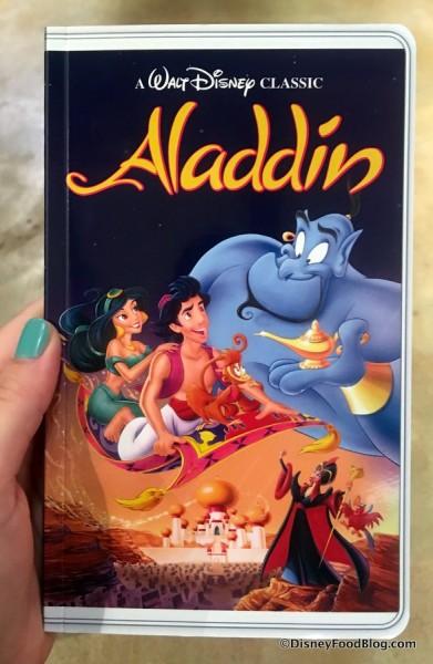 Aladdin VHS Notebook